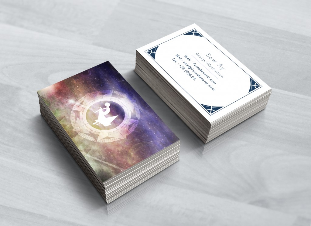 Realistic Business Card Mock-Up2